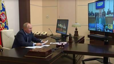 «Реальный шанс заявить о себе есть у разных политических сил»: Путин на встрече с главами прошедших в Госдуму партий