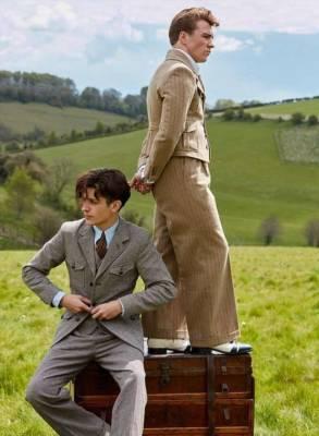 Сын Мадонны дебютировал в качестве модели в костюмах ретро-стиля