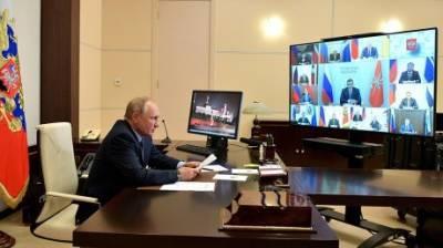 Мельниченко доложил Путину о своих планах на посту губернатора