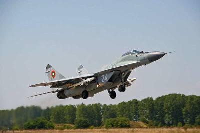 Болгария намерена расторгнуть контракт с Россией на ремонт истребителей МиГ-29