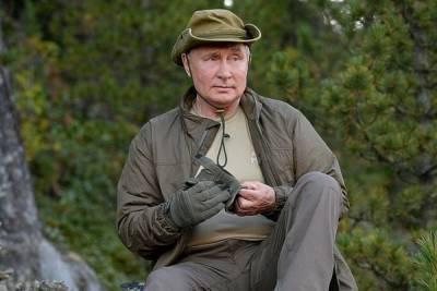Песков рассказал об охране Путина на отдыхе