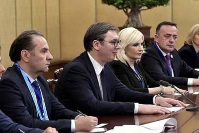 Вучич заявил, что Сербии нужен мир с Косово