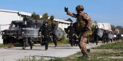 После требования президента Сербии на границу с Косово прибыли силы НАТО