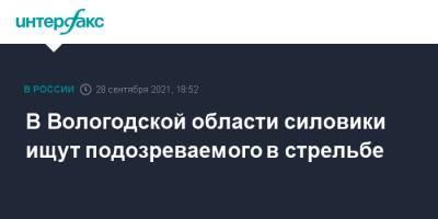 В Вологодской области силовики ищут подозреваемого в стрельбе