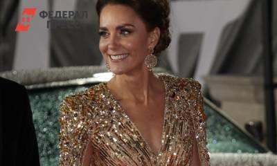 Кейт Миддлтон изменила своей любви к бюджетным брендам и вышла в свет в роскошном наряде