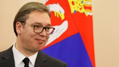 Президент Сербии поблагодарил Россию за поддержку по вопросу Косова