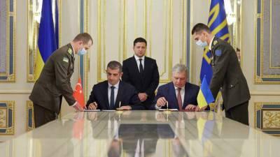 Турция построит на Украине центр по эксплуатации беспилотников Bayraktar
