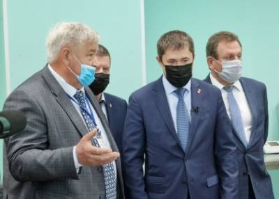 Шаньги для губернатора. Сегодня Кунгур посетил губернатор Дмитрий Махонин