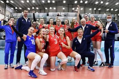 Женская сборная России стала победителем юниорского чемпионата мира по волейболу