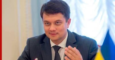 Глава Рады заявил, что не станет оппозиционером в случае отставки