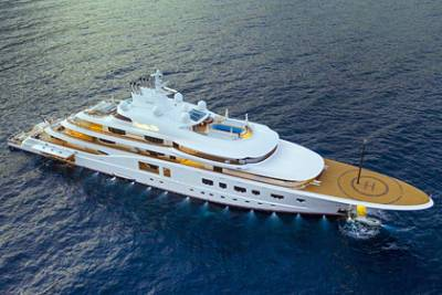 Яхту Сергея Галицкого признали одной из крупнейших на шоу в Монако