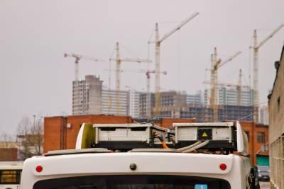 Парк электробусов на 420 автомобилей откроют в Петербурге к 2024 году