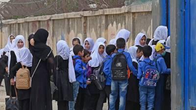 Новый учебный год в Кабуле при талибах