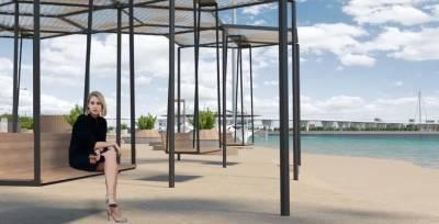 Благоустройство пляжа в парке 300-летия Петербурга закончат в 2023 году