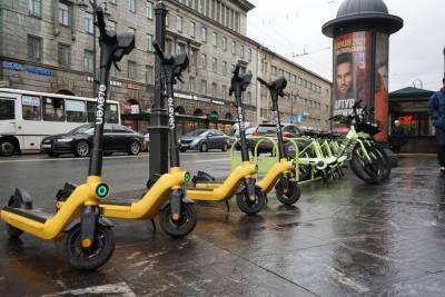 Петербург на первом месте в России по числу ДТП с электросамокатами