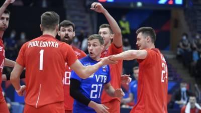 Сборная России по волейболу обыграла финнов в матче третьего тура чемпионата Европы