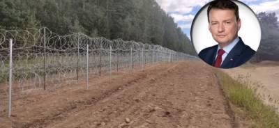 «Полное недоразумение»: польские генералы раскритиковали забор у белорусской границы