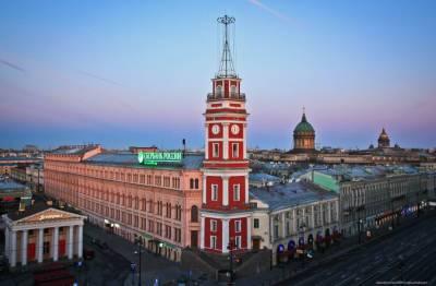 С 9 сентября Думская башня в Петербурге откроется для посетителей