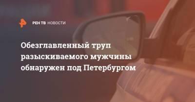 Обезглавленный труп разыскиваемого мужчины обнаружен под Петербургом