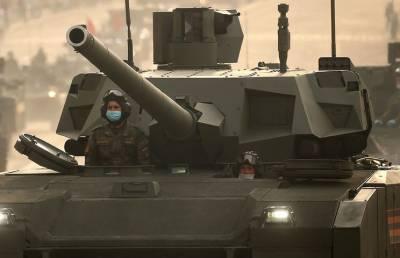 Россия может испытать новый танк Т-14 «Армата» на сирийских террористах