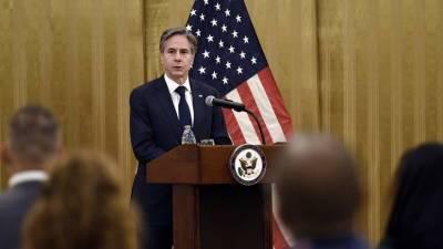 Госсекретарь США обсудил с главой МИД ОАЭ эвакуацию из Афганистана