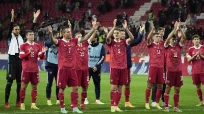 Сборная России посвятила победу над Мальтой ярославскому «Локомотиву»