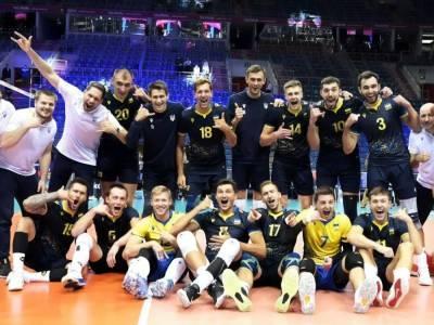 Сборная Украины по волейболу досрочно вышла в 1/8 финала чемпионата Европы