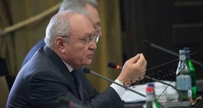 Суд принял решение арестовать экс-генпрокурора Армении Агвана Овсепяна
