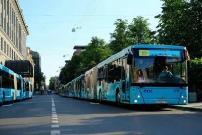 Петербург лидирует по количеству автобусов на сжиженном природном газе