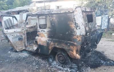 Оперативники СБУ попали под обстрел в зоне ООС