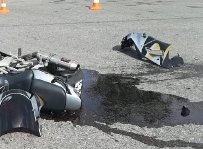 Возбуждено уголовное дело по факту ДТП с мотоциклом в Смоленской области