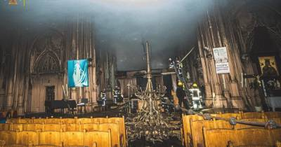 Пожар в костеле Святого Николая: при Минкульте в ближайшие дни создадут рабочую группу